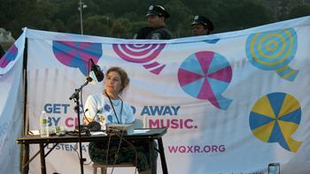 WQXR's Naomi Lewin is one of the broadcast's hosts.