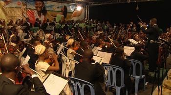 The Kinshasa Symphony Orchestra