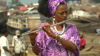 Flautist Nathalie Bahati