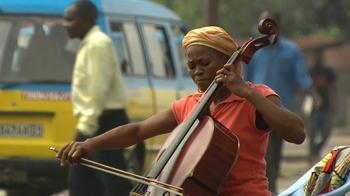 Cellist Josephine Nsimba