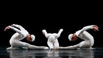 Tyler Angle, Wendy Whelan and Adrian Danchig-Waring in <em>Monotones II</em> by Morphoses