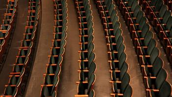 New seats at City Center are reconfigured to provide better sightlines