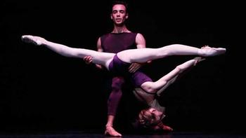 Wendy Whelan and Tyler Angle in <em>Polyphonia</em> by Morphoses