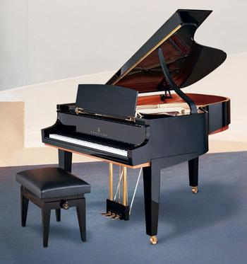 Steinway's way of celebrating the tricentennial of the piano, designed by Dakota Jackson.
