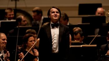 Daniil Trifonov receives a standing ovation after performing the Tchaikovsky Concerto No. 1.