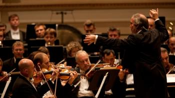 Valery Gergiev conducts the Mariinsky Orchestra at Carnegie Hall.