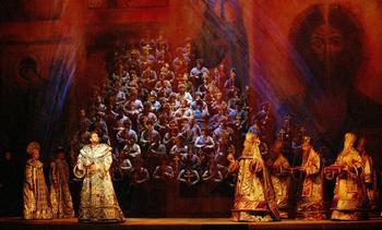 Boris Godunov at L'Opéra National de Paris, Bastille (2002), directed by Francesca Zambello