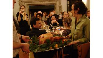 Roman Thanksgiving turkey