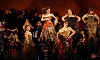 Carmen at The Royal Opera House, London (2008), directed by Francesca Zambello