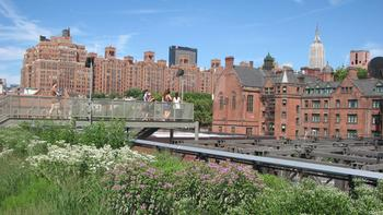 The Whitney's new building will be built at the entrance to the High Line elevated park.