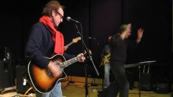 "Ray Davies of the Kinks and Conductor David Temple Rehearse ""You Really Got Me"""