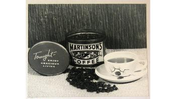 WQXR acquired its first commercial sponsor in May, 1936: Martinson's Coffee. Other early sponsors included Wanamaker's Department Store, Simon & Schuster, and Random House.