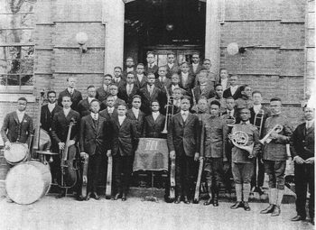 The Morehouse Glee Club in 1911