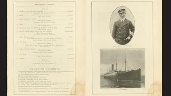 Capt. Rostrum and the S.S. Carpathia.