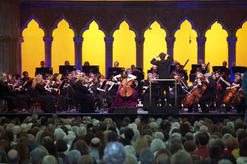 Alisa Weilerstein and the Orchestra of St. Luke's play Elgar's Cello Concerto.