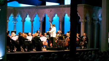 Cristian Macelaru conducts the Orchestra of St. Luke's at the Caramoor Festival