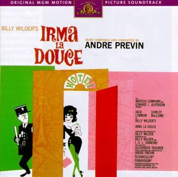 Previn's score to 'Irma La Douce'