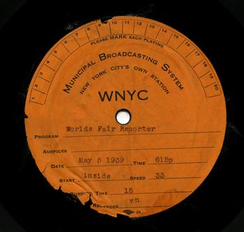 Utah Christmas Radio Stations.Nypr Archive Collections Wnyc New York Public Radio
