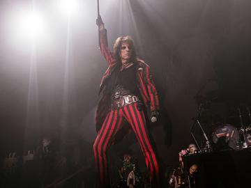 Alice Cooper performing in 2015