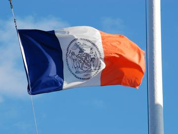 New York City flag.