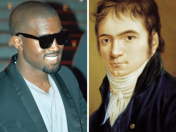 Kanye West and Beethoven