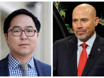 Republican incumbent Tom MacArthur and Democratic challenger Andy Kim are set to square off in a debate Wednesday night.