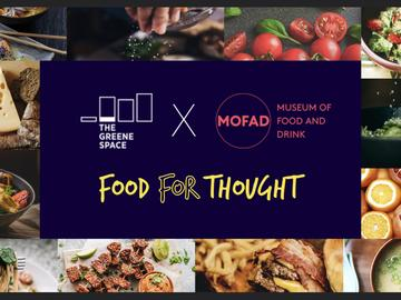 An icon for Food For Thought presented by The Greene Space