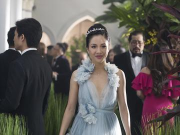 This image released by Warner Bros. Entertainment shows Constance Wu in a scene from the film 'Crazy Rich Asians.'