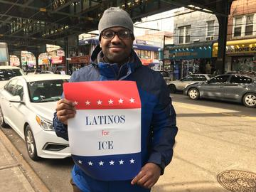 Mike Reyes, a Corona resident with a Dominican background, questions New York's sanctuary city policy.