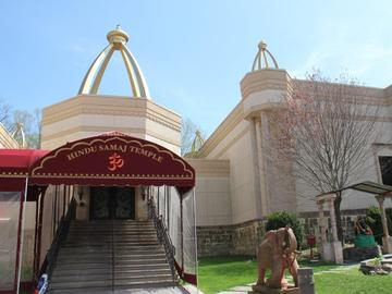 The Hindu Samaj Temple in Mahwah, NJ