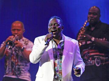 Earth Wind & Fire's Philip Bailey