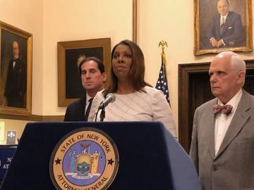 New York State Attorney Letitia James had sought a measure to be able to prosecute Trump associates who had been pardoned.