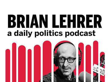 Host Brian Lehrer speaking into a microphone