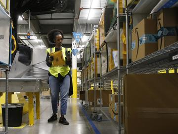On Monday, March 16, 2020, Amazon said that it needs to hire 100,000 people across the U.S. to keep up with a crush of orders as the coronavirus spreads and keeps more people at home, shopping online.