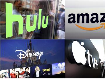 Americans at home by the coronavirus can turn to Netflix, Amazon, Hulu and other streaming services, outliers in an entertainment industry otherwise brought to an unprecedented standstill.