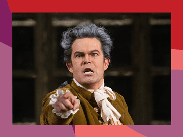 Bass-baritone Gerald Finley as Count Almaviva