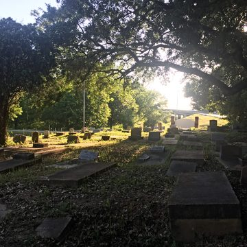Cemetery in Africatown, Alabama. 2018.