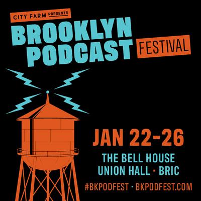 Brooklyn Podcast Festival logo