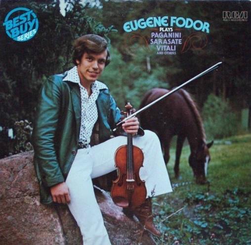 Eugene Fodor, the 'Cowboy violinist'