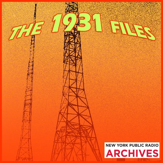 NYPR Archive Collections   WNYC   New York Public Radio, Podcasts