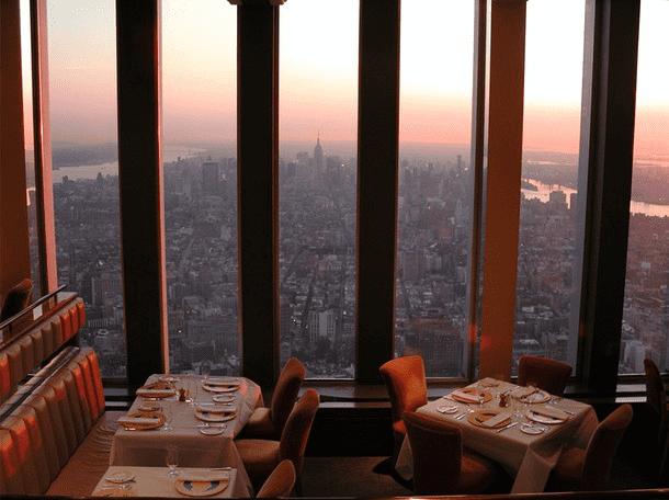 Options restaurant world trade centre