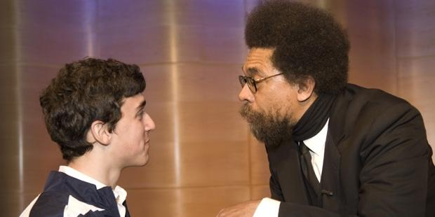 Cornel West in The Greene Space