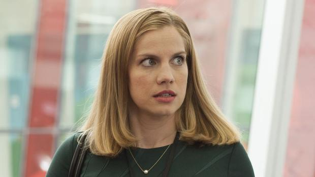 Anna Chlumsky was nominated for Supporting Actress in a comedy series for her role in Veep.
