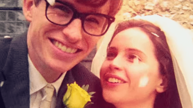 A still from the movie The Theory Of Everything.
