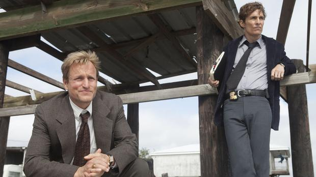 Woody Harrelson and Matthew McConaughey in the first season of True Detective.