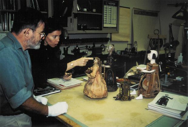 Liz and David and Kazuo 1999