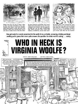Mad parodied the movie Who's Afraid of Virginia Woolf with