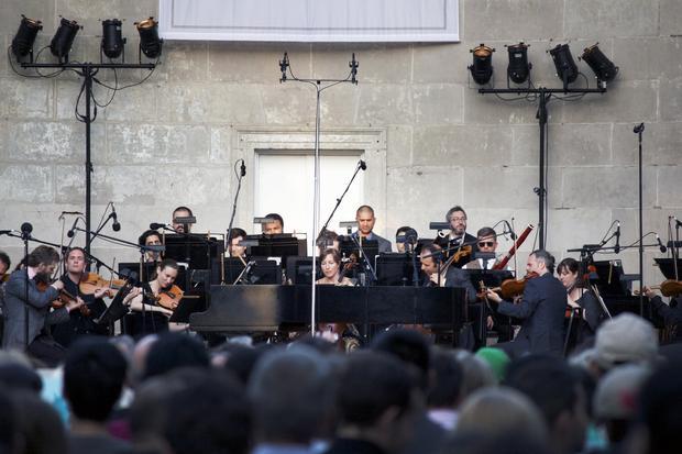 "The Knights perform Boccherini's Quintet in C major Op. 30, No. 6 ""La Musica Notturna delle strade di Madrid' (arranged for string orchestra)."