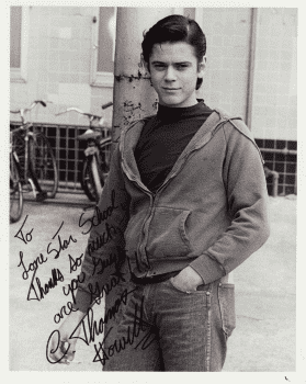C. Thomas Howell's autographed headshot for Lone Star Junior High School.
