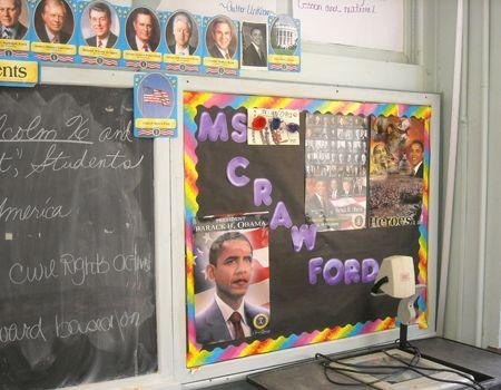 Ms. Crawford's board